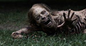 A Zombie, As Seen On 'The Walking Dead'
