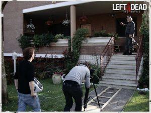 Filming Bill - zombie