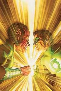Sinestro vs. Hal Jordan