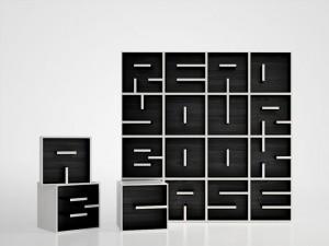 Letter Bookshelves