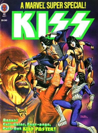 Kiss comic 2