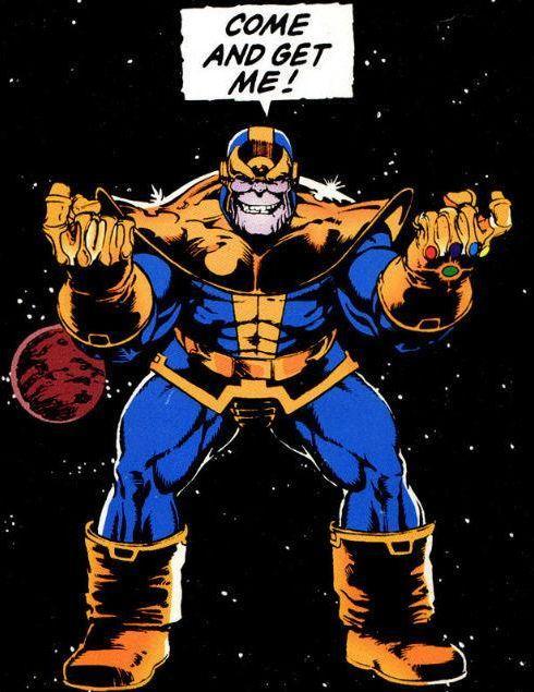 Thanos teasing