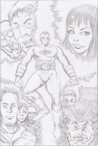 Brian Robinson, Comic Booked