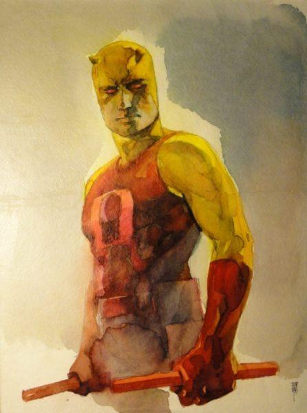 Daredevil's Classic Yellow Costume