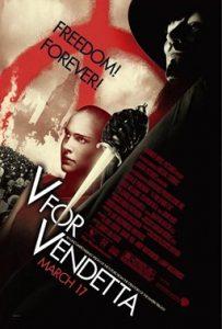 Poster for V for Vendetta movie