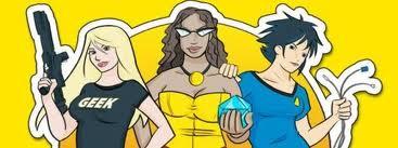 Geek Girl Con banner