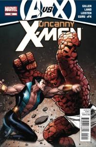 Uncanny X-Men, AvX