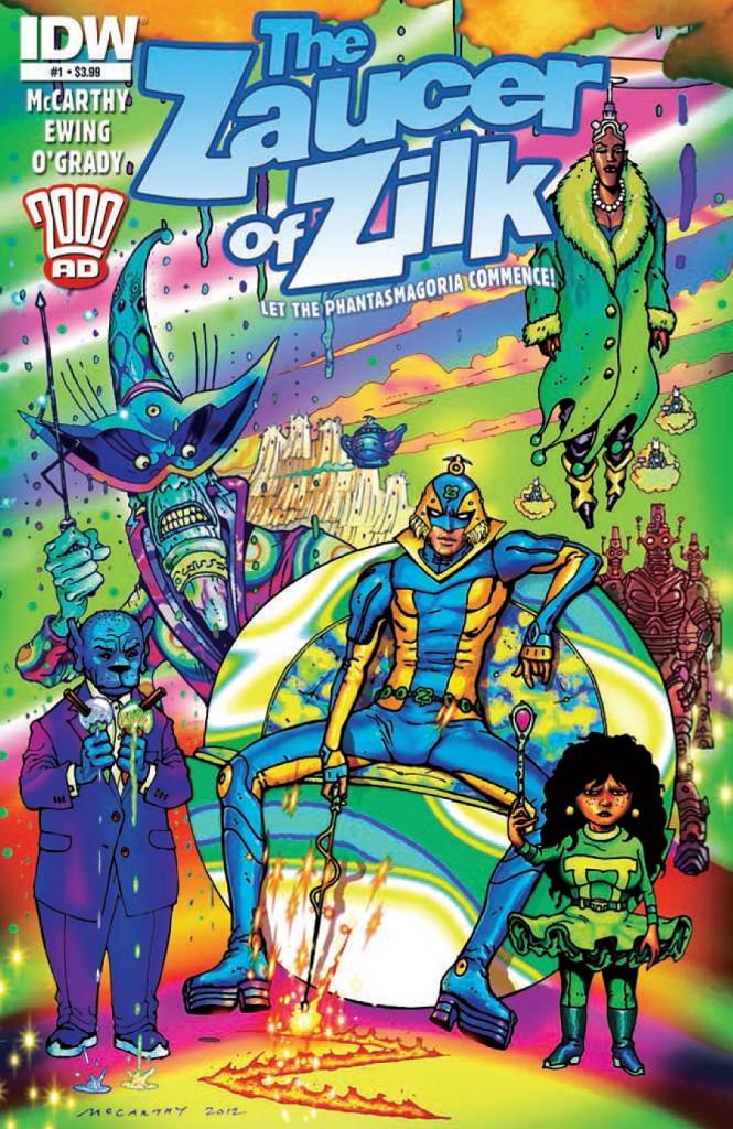 Review: The Zaucer of Zilk #1