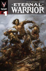 Eternal Warrior #1, Standard Cover