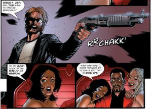 sinister dexter #1 panel a