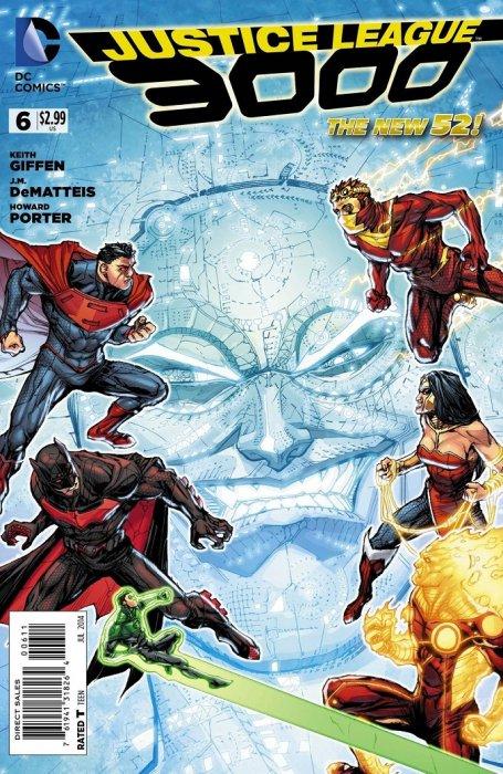 Justice League 3000 6