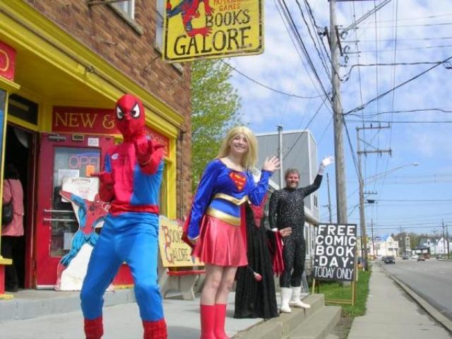 Local Comic Shop Spotlight: Free Comic Book Day – Books Galore