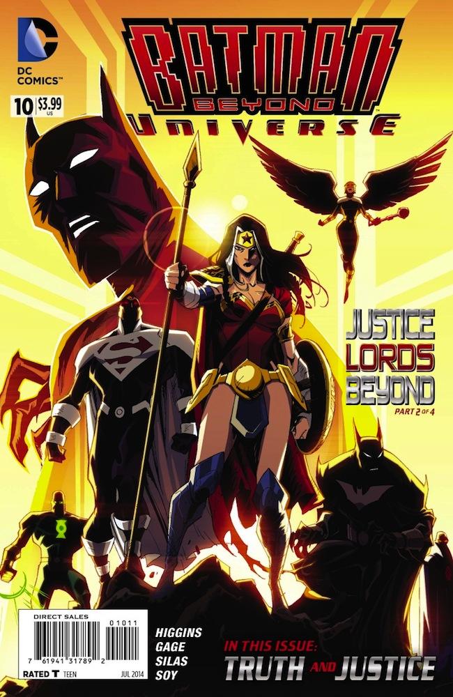 DC review: Batman Beyond Universe #10 – spoiled