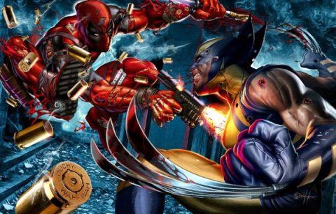Wizard World Richmond - Greg Horn Wolvie vs Deadpool