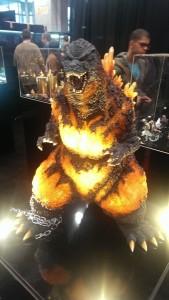 New York Comic Con - Godzilla statue