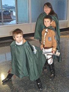 wizard world pics attack on titan scouts