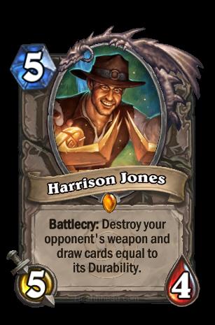 Harrison Jones Hearthstone