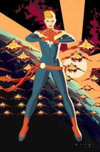 Captain Marvel #1 2016