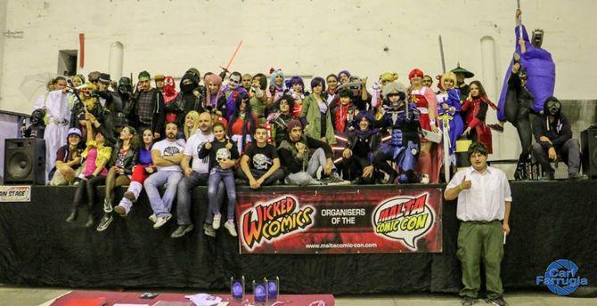 WIcked Comics, 4, Malta Comic Con, comics, costume contest, cosplay, Malta1